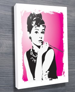 Audrey-Hepburn-Pink-pop-art-canvas-print