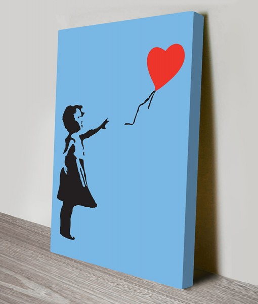 Banksy-Balloon-Girl-Canvas-Prints