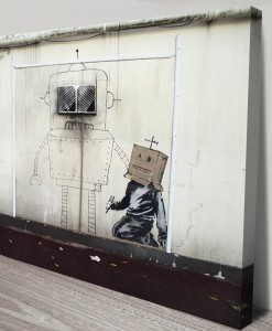 Banksy-Canvas-Art-Torquay-Robot