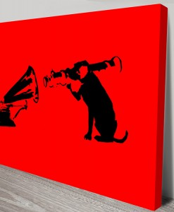 Banksy-Dog-hmv-canvas-art-s