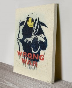 Banksy-Street-Art-Canvas-Wrong-War