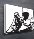 Banksy-street-art-on-canvas
