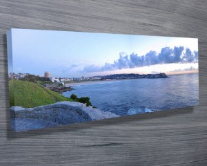 Bondi Beach Panoramic canvas print