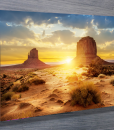 Desert-Sunset landscape-canvas-wall-art