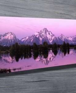 High Dawn Panoramic Canvas Print