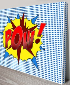 POW-Pop Art Canvas Print