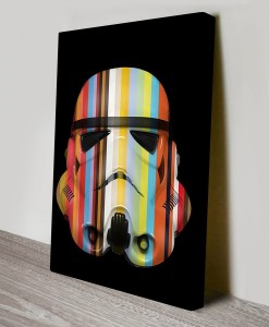 Painted_Stormtroopers_1 Warhol Pop Art Canvas Print