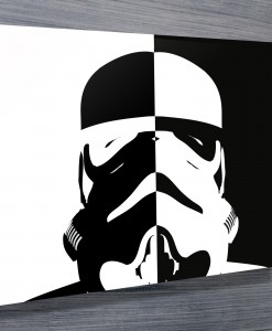 Stormtrooper Inverted canvas print