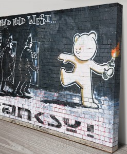The-Mild-Mild-West-Banksy-Art