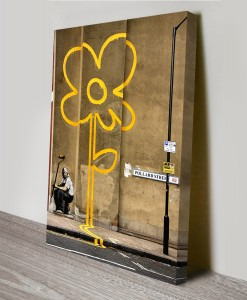 Yellow-Line-Man-banksy-art