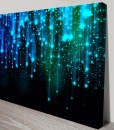 star-fall-Abstract Art Canvas Print