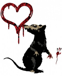 Banksy-Rat-Heart