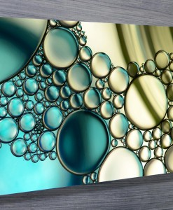 Bubbles Abstract Wall Art