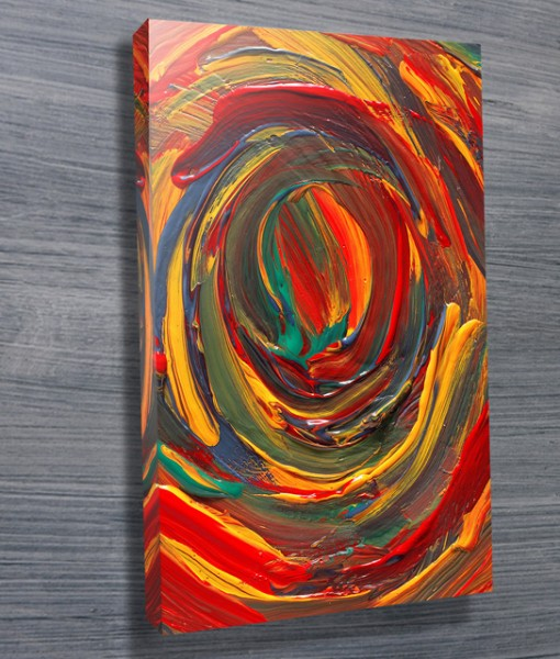 Cyclonic Colour Abstract Wall Art