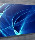 Electric Waves Abstract Wall Art