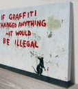 Graffiti Rat Banksy Art