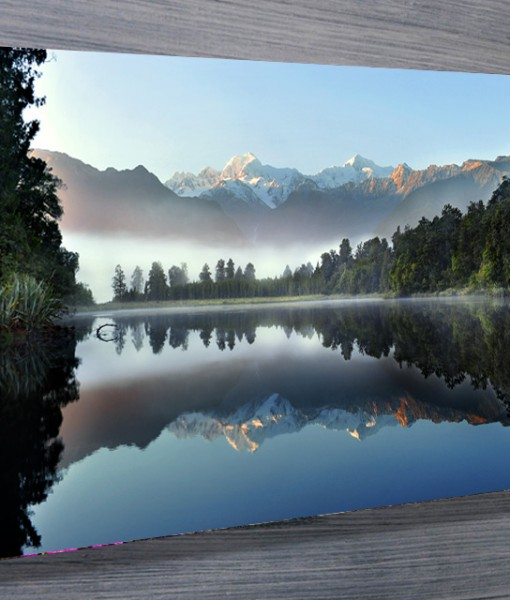 Lake Serenity Landscape Canvas Print