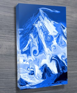 Mountain-in-Abstract-Wall-Art