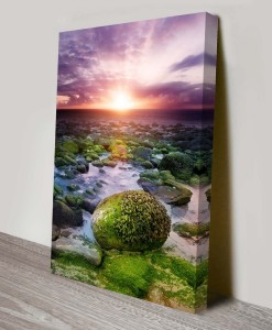 Sunset-Over-Rivers-Artwork-on-Canvas