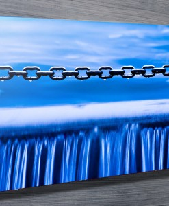 Water Chains Abstract Wall Art