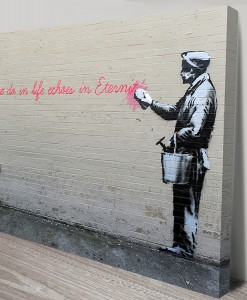 What We Do in Life Banksy Art