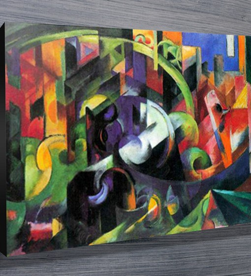 Abstract-with-Cattle-Modern-Wall-Art-Canvas-Print