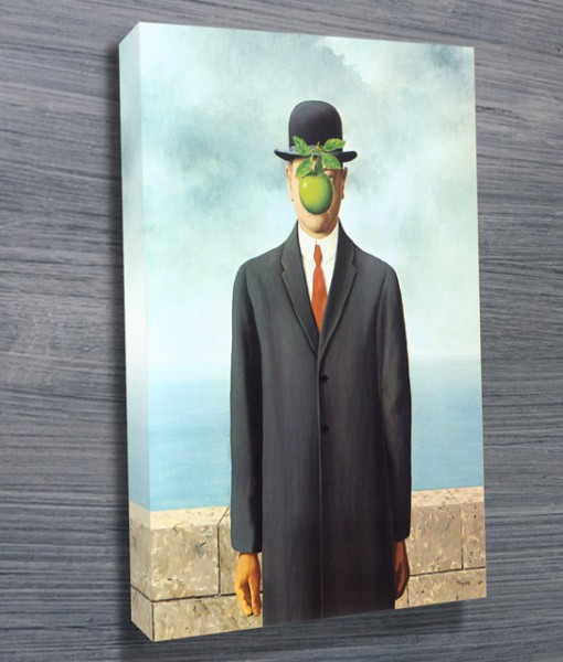 Magritte-Son-of-Man-Canvas-Print