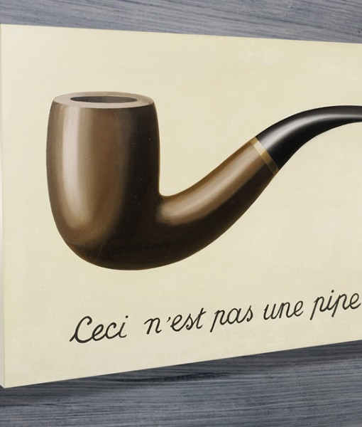 Magritte-Treachery-of-Images-canvas-print