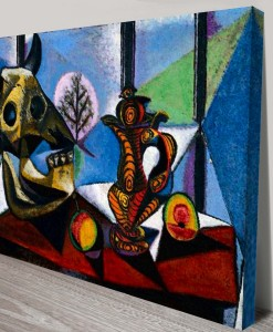Picasso-Bull-Skull-Fruit-Pitcher