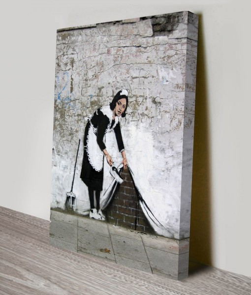 Banksy Art Keeping It Spotless